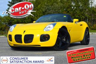 Used 2008 Pontiac Solstice GXP TURBO LEATHER ONLY 40,000 KM 19 ALLOYS for sale in Ottawa, ON