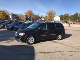 Used 2017 Dodge Grand Caravan Crew Plus | Previous Rental for sale in Mitchell, ON