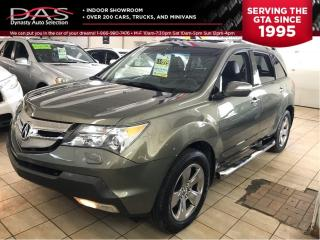 Used 2007 Acura MDX ELITE PKG NAVIGATION/LEATHER/SUNROOF for sale in North York, ON