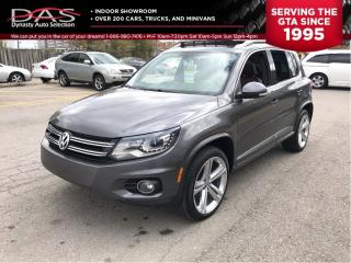 Used 2013 Volkswagen Tiguan HIGHLINE R-LINE PANORAMIC SUNROOF/LEATHER for sale in North York, ON