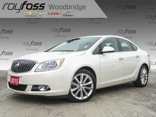 Used 2015 Buick Verano NAV, BOSE, BACKUP CAM, SUNROOF for sale in Woodbridge, ON