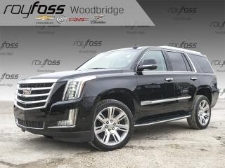Used 2018 Cadillac Escalade NAV, VENTED SEATS, BOSE for sale in Woodbridge, ON