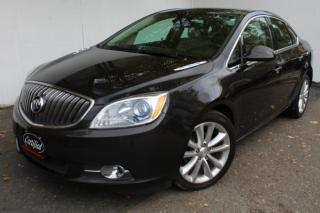 Used 2013 Buick Verano Leather Blind spot Back camera+Senser Heated seats Bluetooth for sale in Mississauga, ON