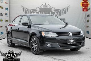 Used 2014 Volkswagen Jetta HIGHLINE DIESEL TDI BACK-UP CAMERA LEATHER INTERIOR SUNROOF for sale in Toronto, ON