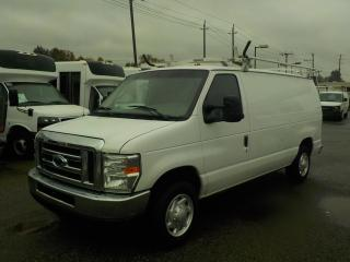 Used 2008 Ford Econoline E-150 Cargo Van with Ladder Rack and Rear Shelving for sale in Burnaby, BC