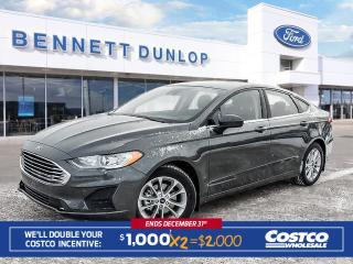 New 2019 Ford Fusion SE for sale in Regina, SK