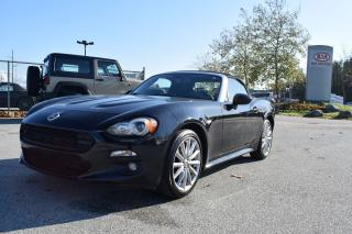 Used 2017 Fiat 124 Spider Lusso for sale in Parksville, BC