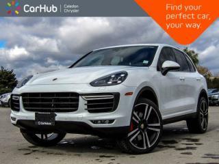 Used 2016 Porsche Cayenne Turbo|AWD|Navi|Pano Sunroof!Backup Cam|Bluetooth|Leather|Heated Seats|19