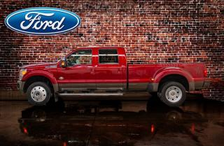 Used 2016 Ford F-450 4x4 Crew Cab King Ranch Dually Diesel Leather Roof Nav for sale in Red Deer, AB