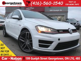 Used 2015 Volkswagen GTI NAVI | CAM | LEATHER | SUNROOF | INTAKE / EXHAUST for sale in Georgetown, ON