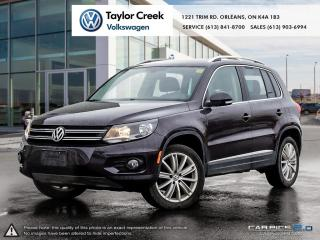 Used 2016 Volkswagen Tiguan Highline 2.0T 6sp at w/ Tip 4M for sale in Orleans, ON