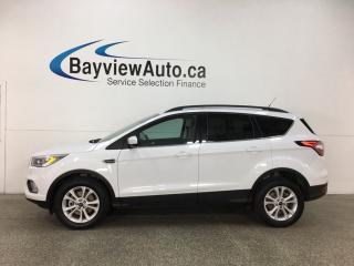 Used 2018 Ford Escape SEL - 4WD! PANOROOF! HTD LTHR! SYNC! BSA! APPLE CARPLAY! ANDROID AUTO! for sale in Belleville, ON