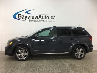 Used 2018 Dodge Journey Crossroad - 7 PASS! REMOTE START! 3 ZONE CLIMATE! U-CONNECT! HTD LEATHER! for sale in Belleville, ON