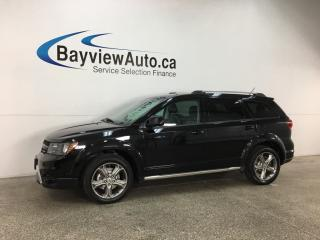 Used 2018 Dodge Journey Crossroad - 7 PASS! REMOTE START! 3 ZONE CLIMATE! HTD LTHR! U-CONNECT! for sale in Belleville, ON