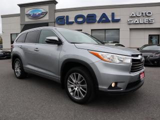 Used 2015 Toyota Highlander XLE AWD V6 8 PASSENGERS ONLY 33 K for sale in Ottawa, ON