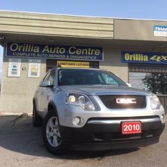 Used 2010 GMC Acadia AWD, 7 Passenger SLE for sale in Orillia, ON