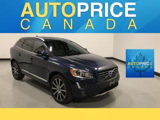 Used 2015 Volvo XC60 T6 Premier Plus PANOROOF|LEATHER|REAR CAM for sale in Mississauga, ON