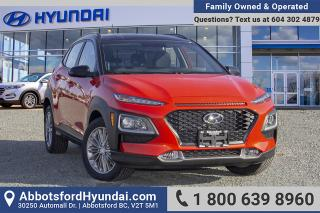 New 2019 Hyundai KONA for sale in Abbotsford, BC