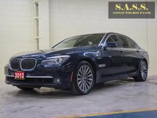 Used 2012 BMW 750Li for sale in Guelph, ON