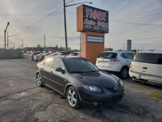 Used 2006 Mazda MAZDA3 GT**LEATHER**ONLY 155KM**TRANSMISSION ISSUE**AS IS for sale in London, ON