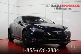 Used 2014 Tesla Model S S 85 + SMART AIR SUS. + INCROYABLE !!! for sale in St-Basile-le-Grand, QC