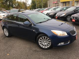 Used 2011 Buick Regal CXL/ AUTO/ LEATHER/ SUNROOF/ ALLOYS/ FOG LIGHTS! for sale in Scarborough, ON