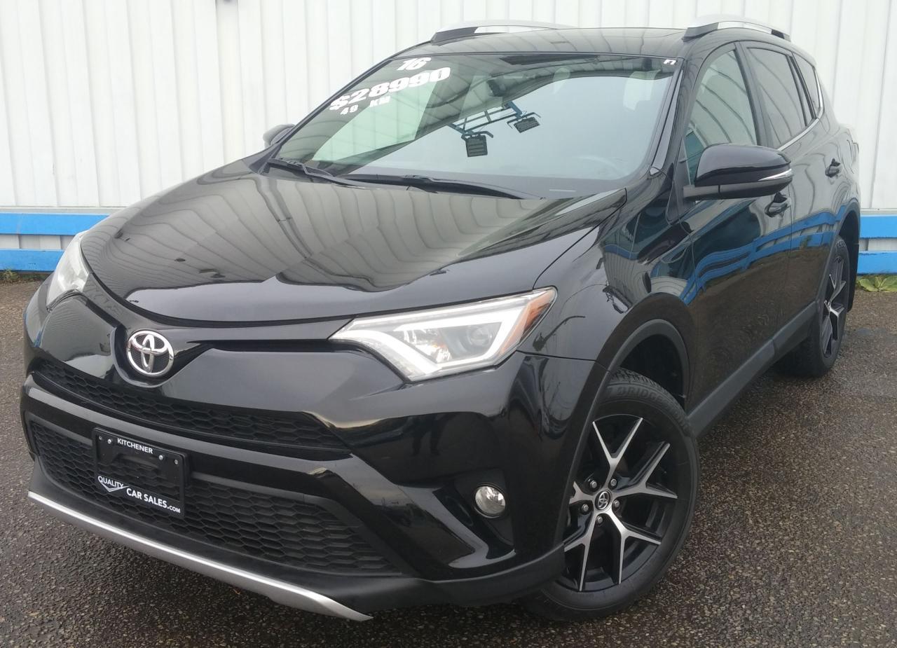 2016 Toyota RAV4 SE AWD *LEATHER-SUNROOF*