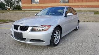 Used 2007 BMW 3 Series 4dr Sdn 323i RWD for sale in Mississauga, ON