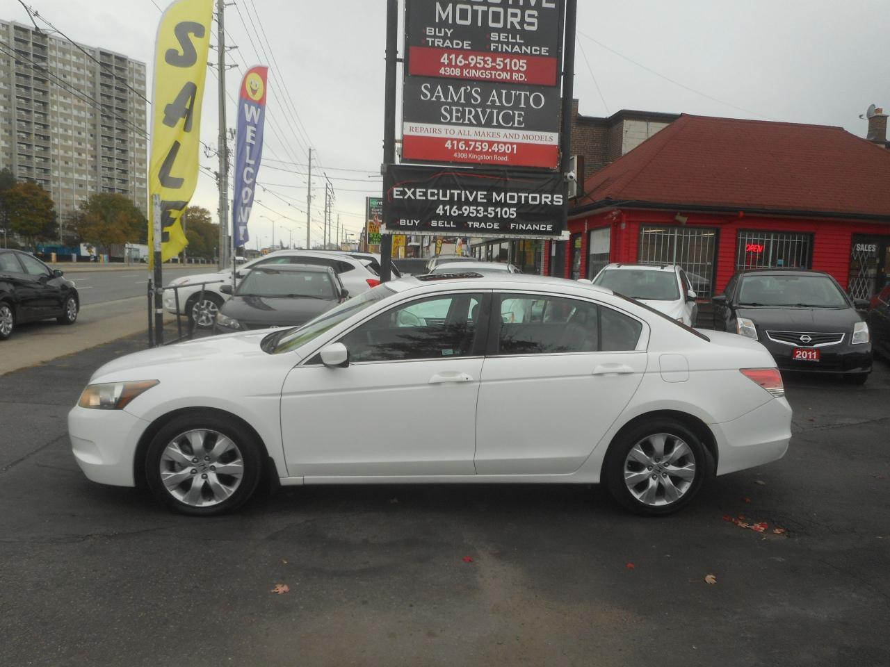 2008 Honda Accord EX-L / LEATHER / ROOF / HEATED SEATS/ ALLOYS /