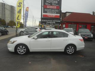 Used 2008 Honda Accord EX-L / LEATHER / ROOF / HEATED SEATS/ ALLOYS / for sale in Scarborough, ON