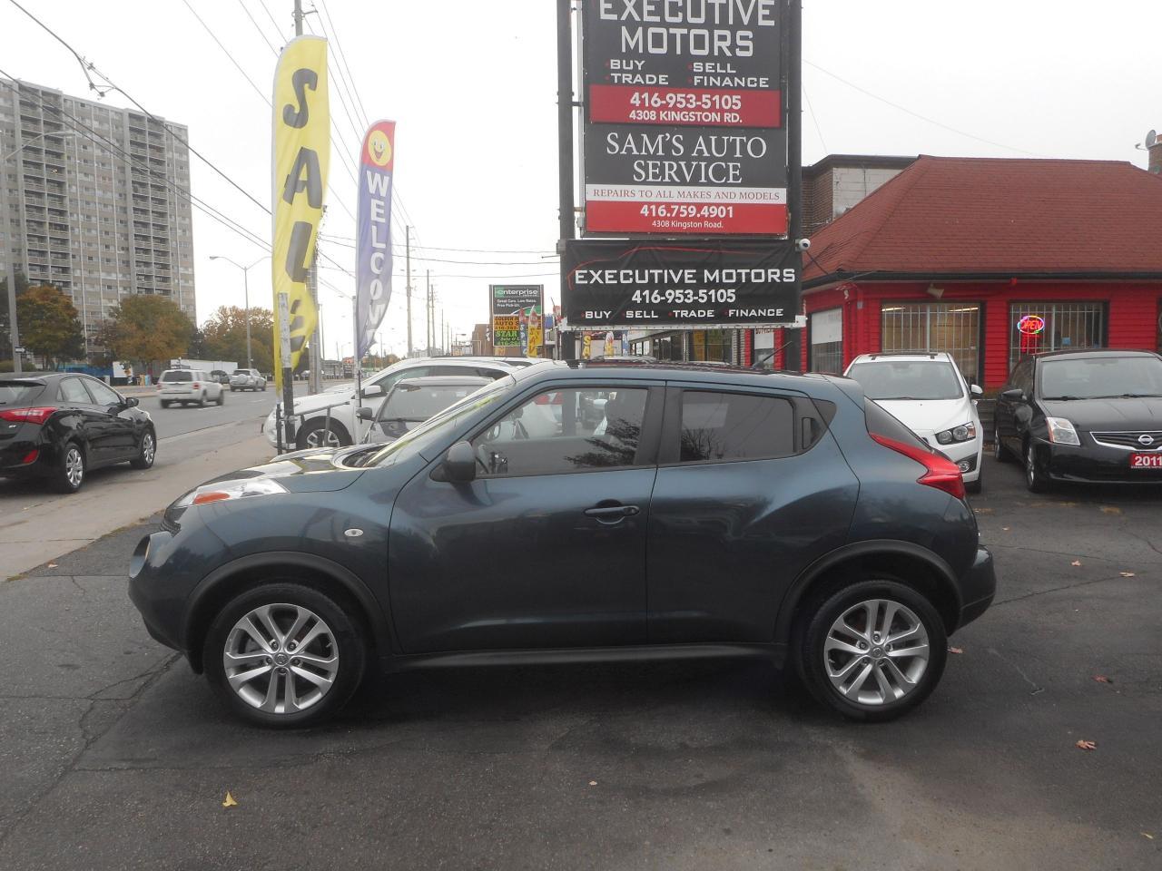 2012 Nissan Juke SL / ALLOYS/ PUSH START/ SUNROOF/ CERTIFIED /