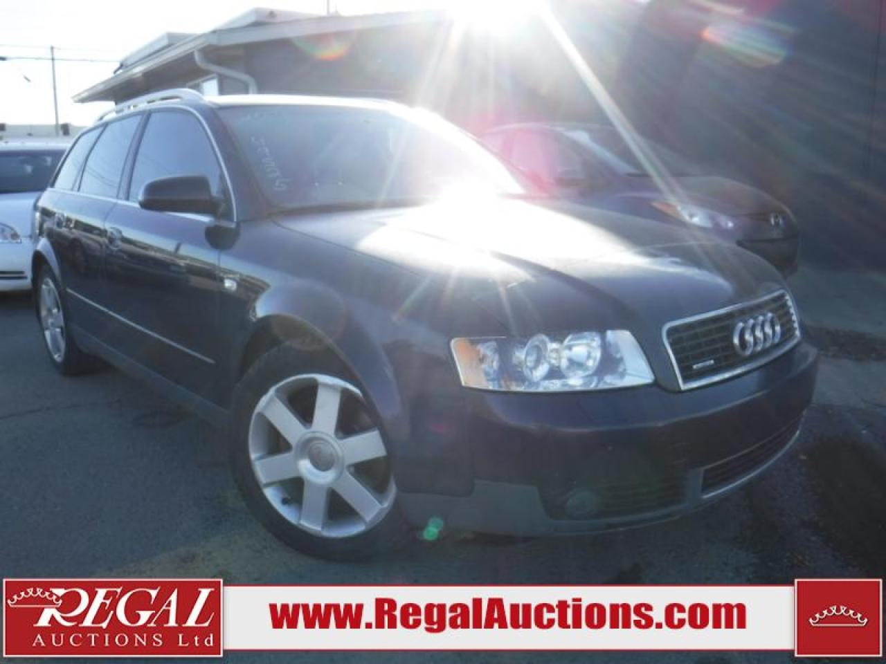 Photo of Black 2003 Audi A4