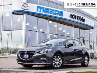 Used 2015 Mazda MAZDA3 GS, ONE OWNER, NO ACCIDENTS, FINANCE AVAILABLE for sale in Mississauga, ON