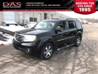 Used 2012 Honda Pilot TOURING NAVIGATION/REAR CAMERA/8 PASSENGER/TV DVD for sale in North York, ON