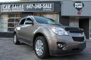 Used 2010 Chevrolet Equinox LEATHER, BACKUP CAMERA for sale in Toronto, ON