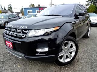 Used 2015 Land Rover Evoque Pure Plus**NAVI**BACK-UP**PANORAMIC**CERTIFIED for sale in Guelph, ON