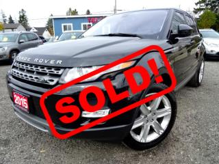 Used 2015 Land Rover Evoque Pure Plus Navigation Panoramic Camera Certified for sale in Guelph, ON
