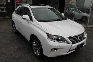 Used 2013 Lexus RX 350 AWD, NAV, BACK-UP CAM SUNROOF for sale in Toronto, ON
