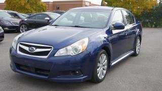 Used 2010 Subaru Legacy AWD * POWER GROUP OPTIONS * CERTIFIED for sale in Woodbridge, ON