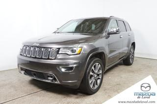Used 2017 Jeep Grand Cherokee Overland AWD for sale in Laval, QC