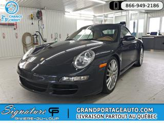 Used 2006 Porsche Carrera C2S + CONVERTIBLE + OPTION SPORT ***MANU for sale in Rivière-Du-Loup, QC