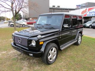 Used 2007 Mercedes-Benz G-Class ~G 500 ~ LOW KM ~ SAFETY INCLUDED for sale in Toronto, ON
