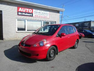 Used 2007 Honda Fit DX for sale in St-Hubert, QC