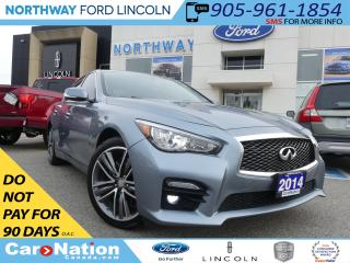 Used 2014 Infiniti Q50 Sport | NAV | LEATHER | AWD | MOONROOF | for sale in Brantford, ON