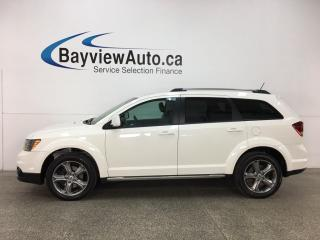 Used 2018 Dodge Journey Crossroad - 7 PASS! AWD! REMOTE START! HTD LTHR! U-CONNECT! PWR GROUP! for sale in Belleville, ON