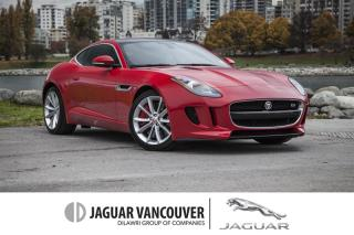 Used 2015 Jaguar F-Type Coupe S at *Certified Pre-Owned! SALE ON NOW! for sale in Vancouver, BC