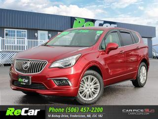 Used 2018 Buick Envision Preferred REDUCED | SAVE $15,549 VS NEW | AWD | HEATED LEATHER for sale in Fredericton, NB
