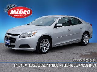 Used 2015 Chevrolet Malibu 1LT 2.5L EcoTec, Pwr Seat, Rmt Start, Rear Cam, Cruise Ctrl, Alloys for sale in Peterborough, ON