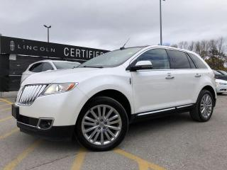 Used 2014 Lincoln MKX AWD|NAVIGATION|PANORAMIC VISTA ROOF for sale in Barrie, ON