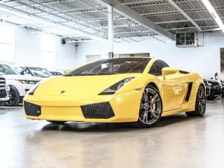 Used 2008 Lamborghini Gallardo SPYDER/NAV/CARBON/CALLISTO RIMS! for sale in Toronto, ON